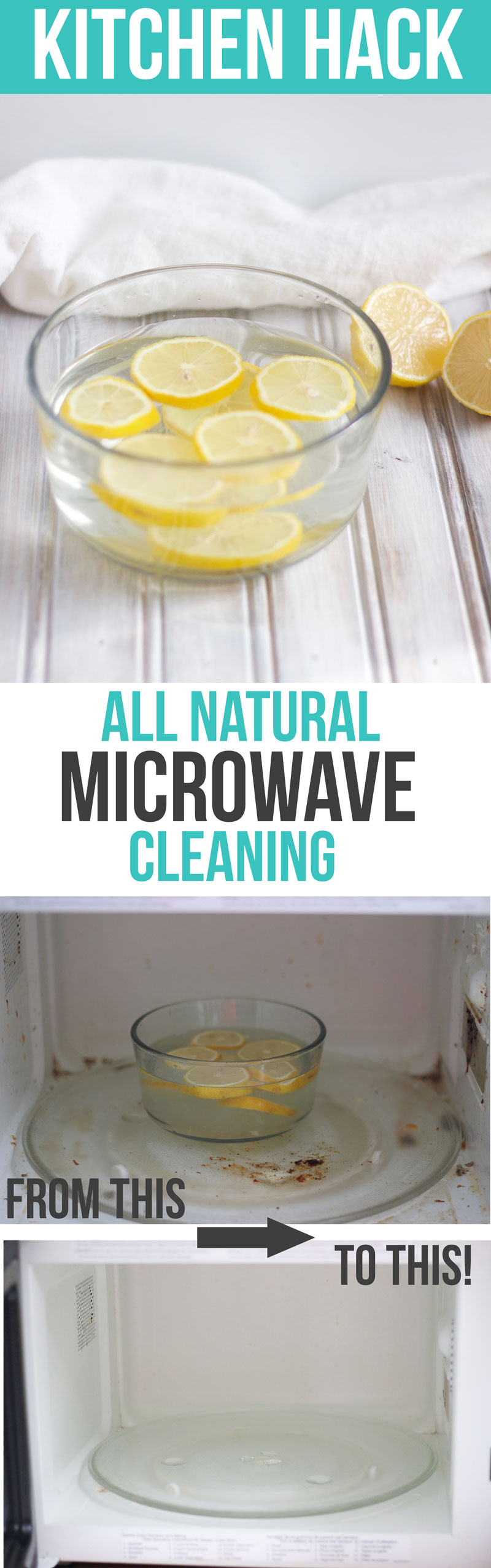 All Natural Microwave Cleaning, Lemon Water Cleaner, Kitchen Clean Hacks and Tips - Nikkisplate