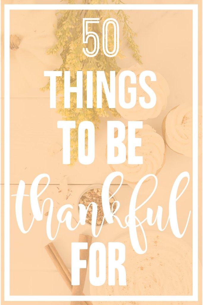50 Things to be Thankful For || spread the love and this year during the holidays! || Nikki's Plate