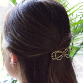 Friday Favourites! Cute Bow Clip Hair Accessory: Lilla Rose Flexi Hair Clips! || Hair Style Beauty || Nikki's Plate