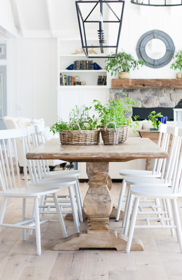 Friday Favourites; including my dream house, favourite new kitchen must have, and recipe much more!Cottage dining room bright white