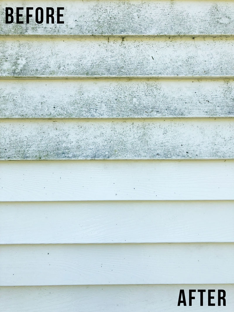 How To Clean Vinyl Siding Home Exterior Cleaning Nikki