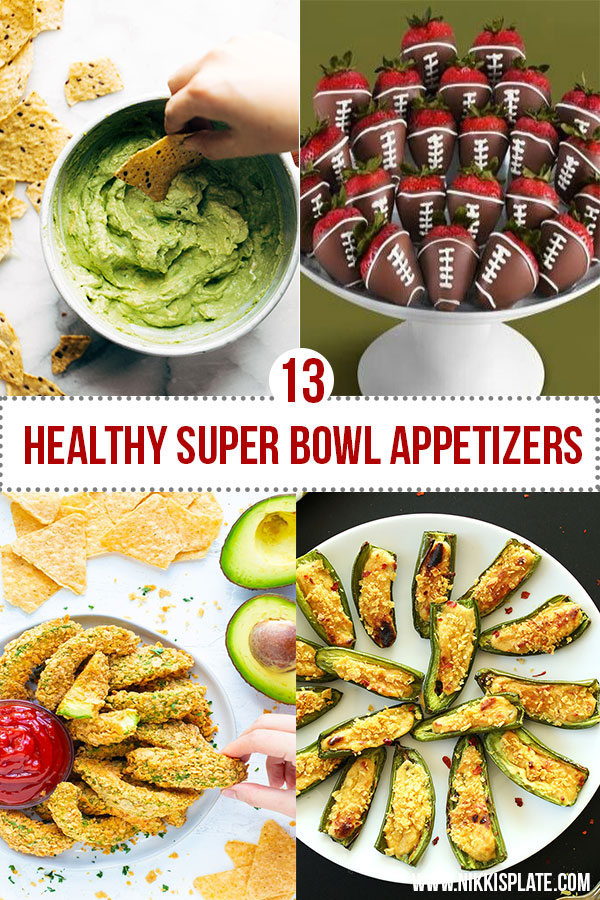 Healthy Super Bowl Appetizers (Vegan, Gluten Free, Sugar Free) || Avocado Dip and Chips #superbowl #appetizers #healthy #vegan || Nikki's Plate