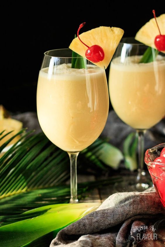 9 Fun Non-Alcoholic Mocktails you can enjoy this summer and not regret the next day! Pina Colada