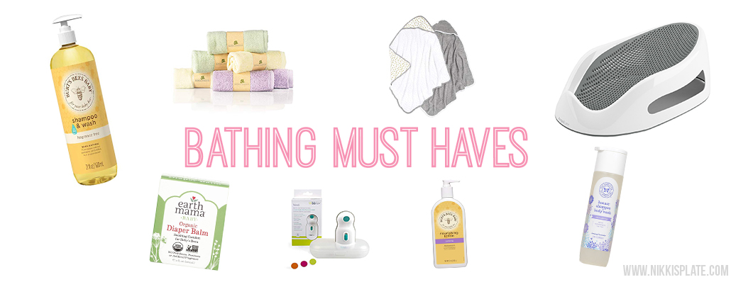 The Best Baby Registry Items; here is a complete baby registry list of what will be on my baby shower registry! The top brands with the best ratings for this year. - Bathing Must Haves