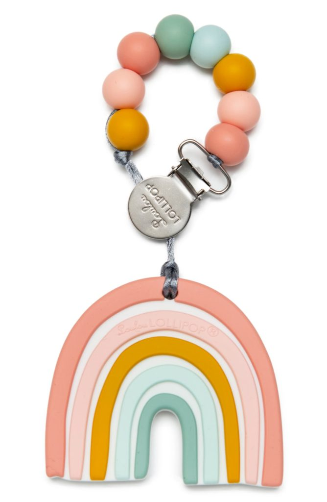 The Little Baby Holiday Gift Guide; Have a new baby to buy for this Christmas? Here are some present ideas for him or her! toys teething #holidaygiftguide #newbaby #loulou