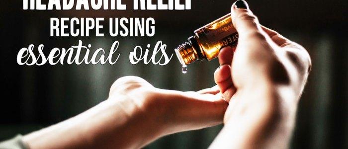 Headache Relief using Essential Oils; A recipe of essential oils that will reduce or completely eliminate your headache or migraine. #essentialoils #headacherelief #headachecure    Nikki's Plate