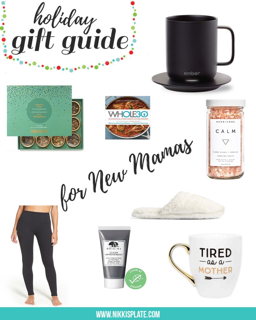 The New Mom Holiday Gift Guide - Nikki's Plate Blog