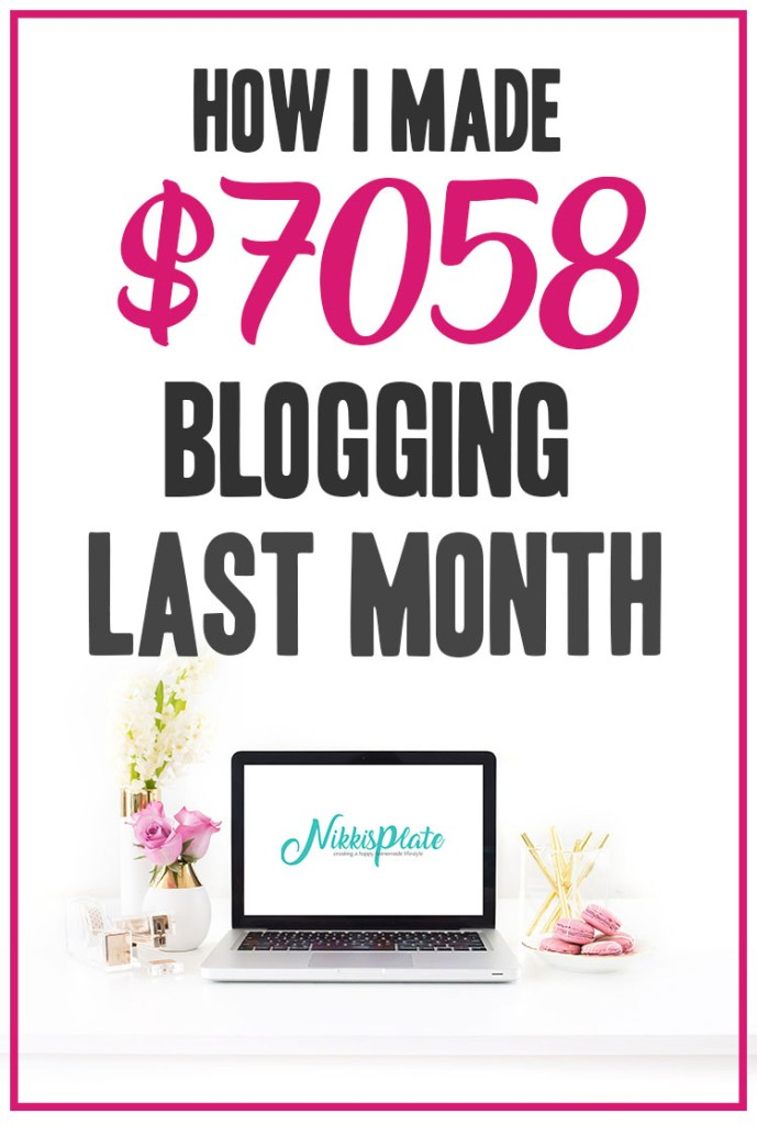 How I Made $7058 Blogging Last Month - May 2020 Traffic and Income Report for Nikki's Plate Blog