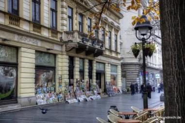 Knez Mihailova ulica: Die Fußgängerzone im alten Teil Belgrads.