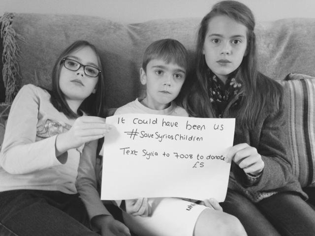 #SaveSyriasChildren - Nikki Young Writes