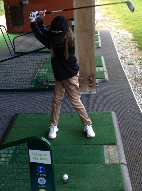 Golf lessons for children - Nikki Young Writes