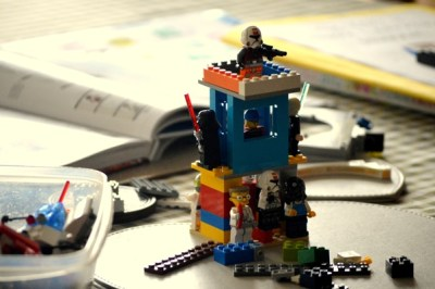 Lego mini-figure display - Nikki Young Writes