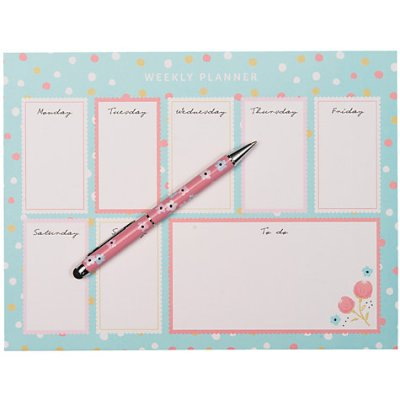 Weekly planner - Nikki Young Writes