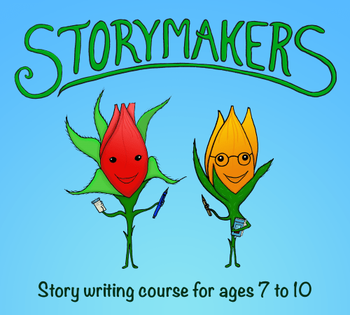 Storymakers Creative Writing Club for Children offers Story Writing Courses from aged 7+ - see: https://www.nikkiyoung.co.uk/storymakers-make-a-booking