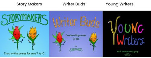 Storymakers group logos - Nikki Young Author