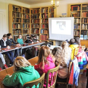 Storymakers at the Chiddingstone Castle Literary Festival - Nikki Young