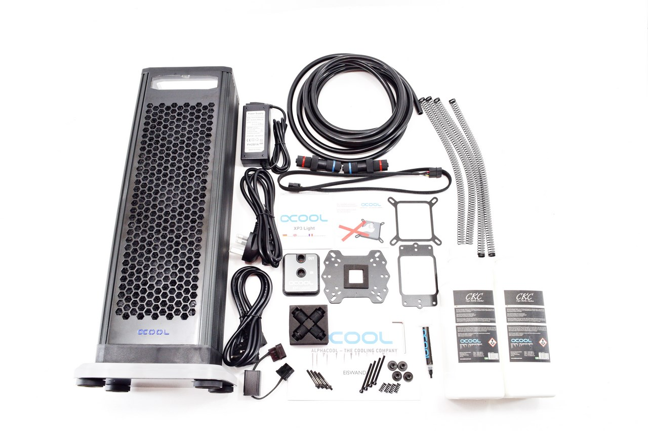 Alphacool Eiswand 360 External Water Cooling Kit Review