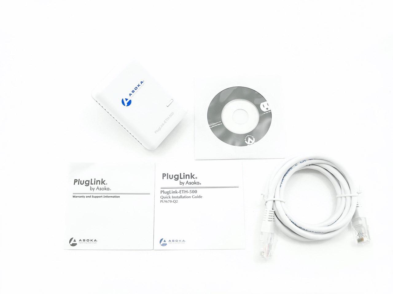 plug power q2 2000 civic si fuse box diagram asoka pluglink pl9760 500mbps dual ethernet powerline