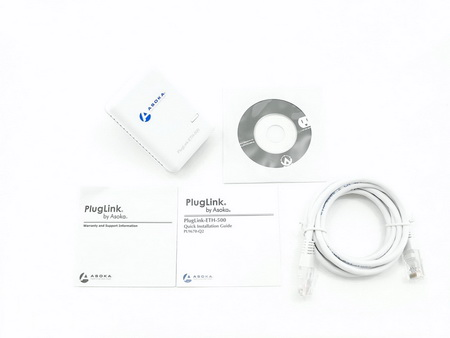 NikKTech: Asoka PlugLink PL9760-Q2 500Mbps Dual Ethernet
