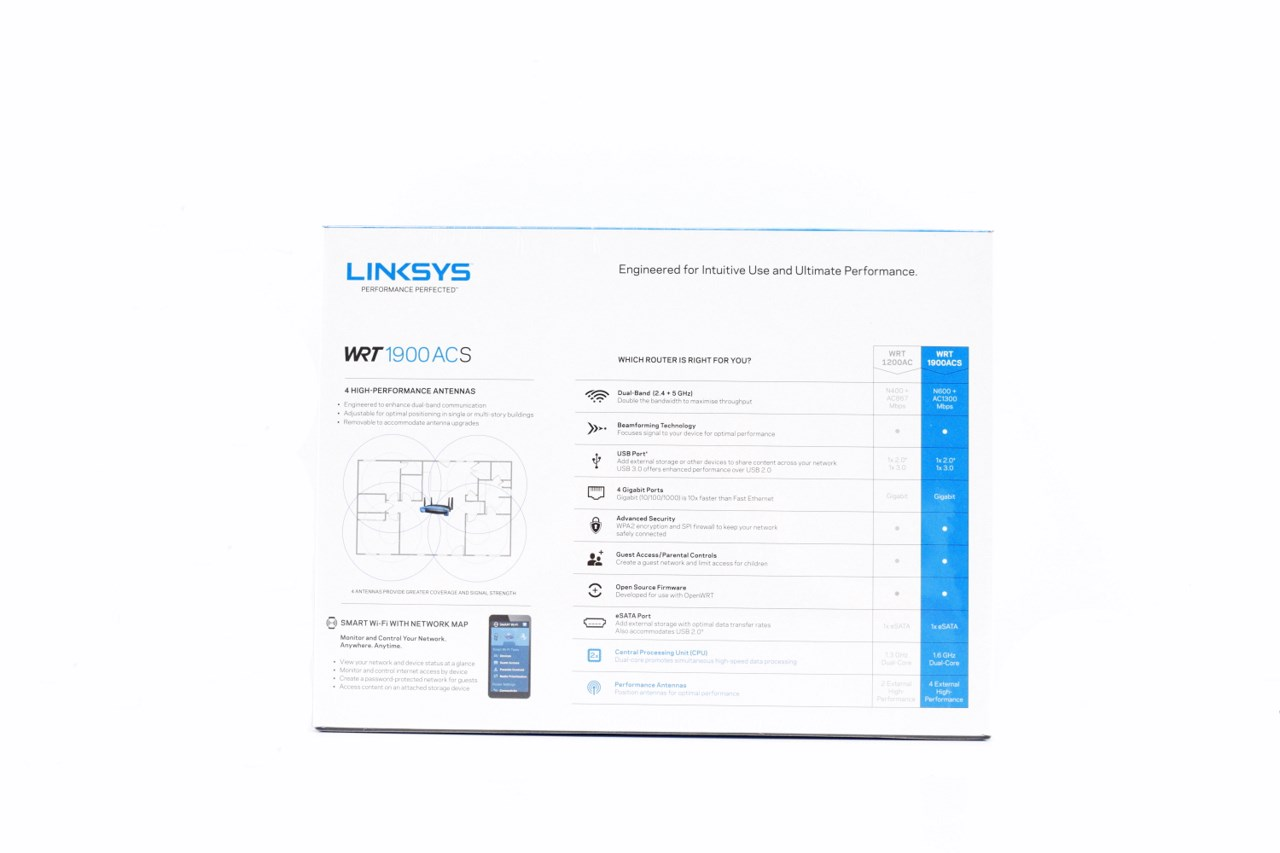 Linksys WRT1900ACS AC1900 Smart Wi-Fi Wireless Router Review