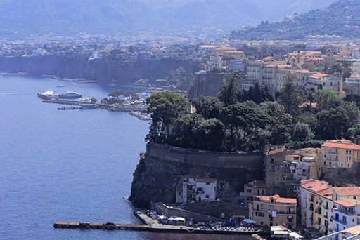 Sorrento, Overview, Ocean, Naples, Italy