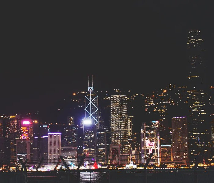 Iconic Hong Kong Skyline