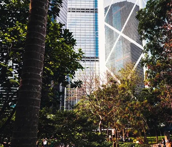 Hong Kong Skyscraperss