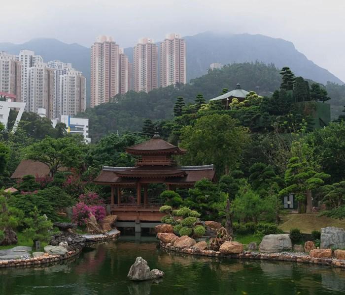 Asian Pavilion Bridge, Nan Lian Garden, Hong Kong