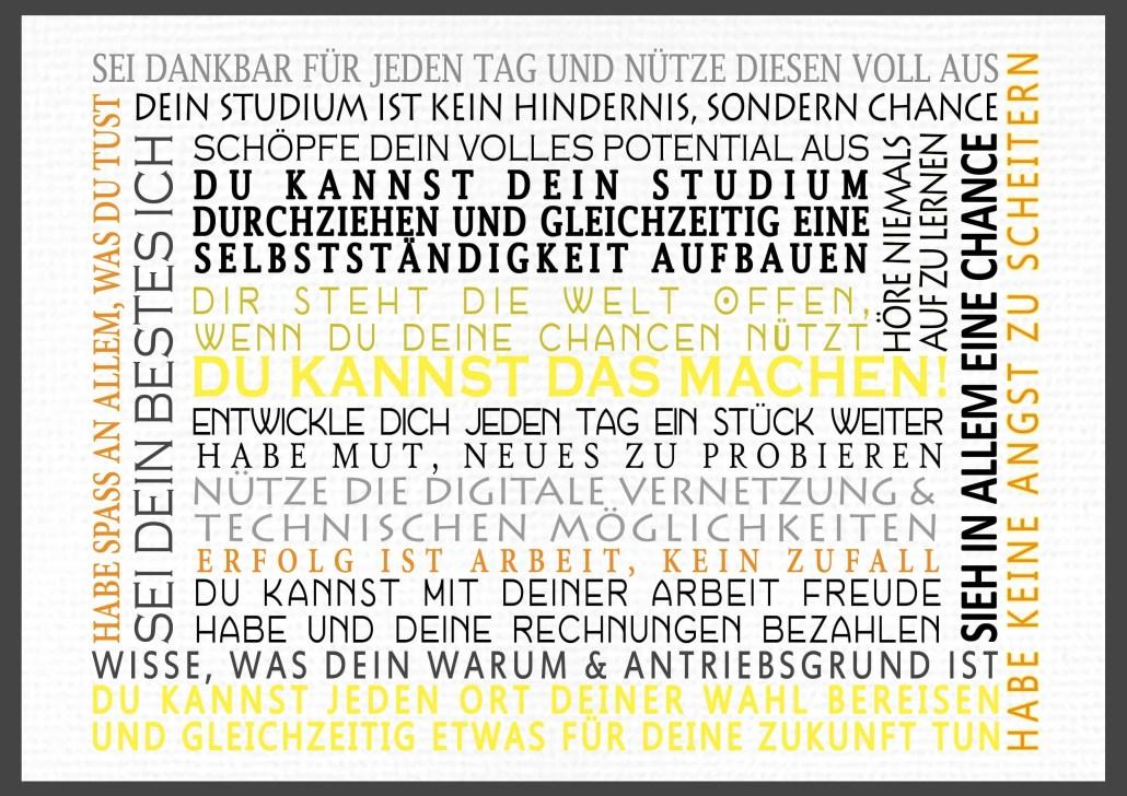 Niko Juranek Blog Branding Typographic Poster