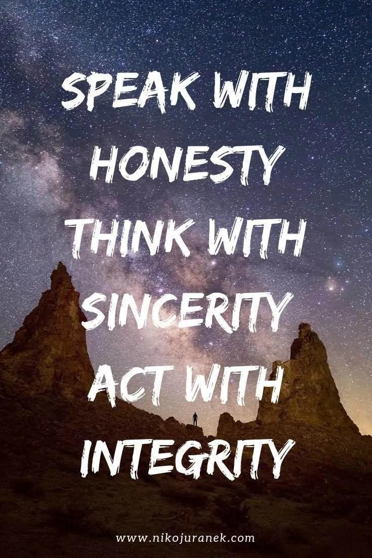 integrität prinzipien niko juranek persönlichkeitsentwicklung