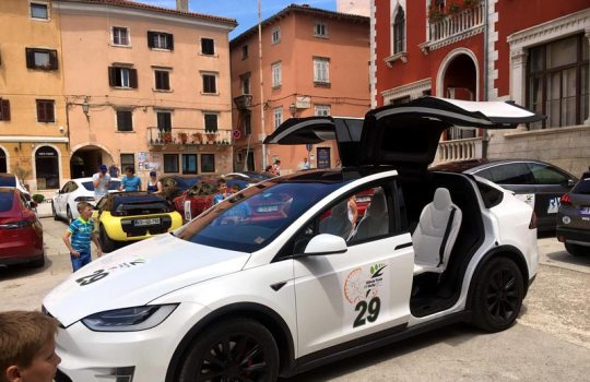 Nikola Tesla EV Rally Croatia 2017.