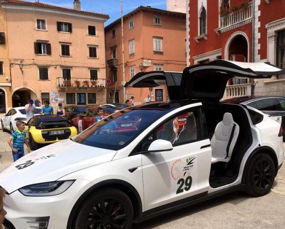 Nikola Tesla EV Rally Hrvatska 2017