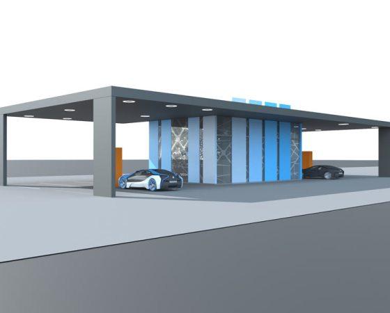 "Solar autonomous charging station ""Sunčica/Eva Sun"""