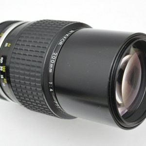 Nikon Nikkor 200mm 4.0 - AI Zustand A- geringe Abnutzungsspuren