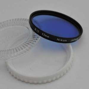 Nikon Filter 52mm B12 im Zustand A/A+ TOP Nikon Filter 52mm B12