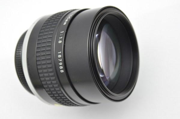 Nikon Nikkor 105mm 1.8 AIS keine Verzerrung, keine Vignettierung