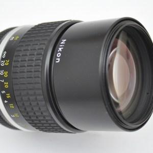 Nikon Nikkor 135mm 2.8 AIS bei Offenblende superscharf