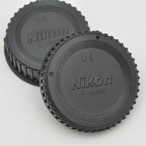 Nikon - Objektivrückdeckel und Kameradeckel - neue Version