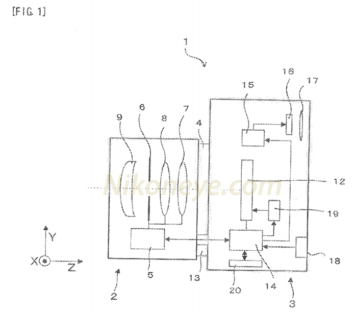New Nikon patent shows a mirrorless camera CMOS global