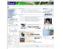 Banif website screenshot