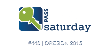 Speaking at SQLSaturday #446, Oregon 2015