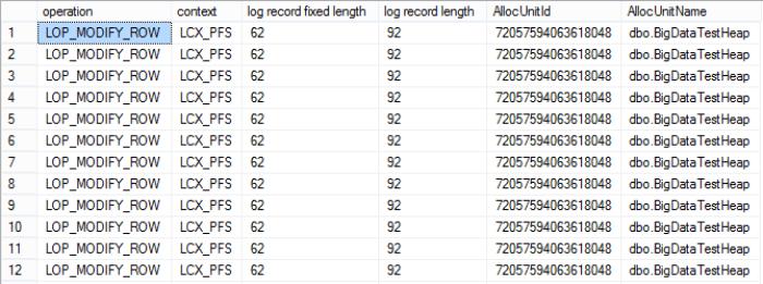 heap-minimal-logging