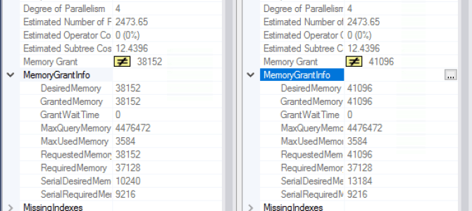"""Columnstore Indexes – part 93 (""""Batch Mode Adaptive Memory Grant Feedback"""")"""