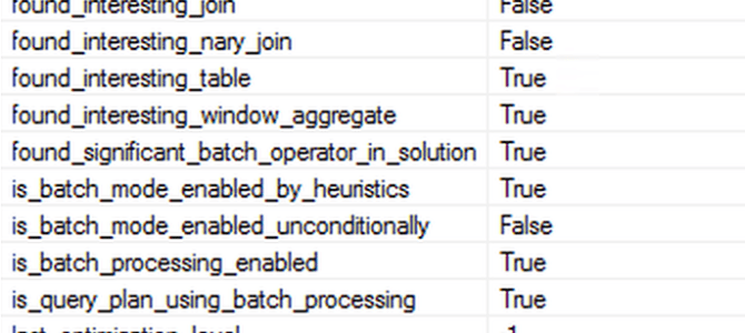 "Batch Mode – part 3 (""Basic Heuristics and Analysis"")"