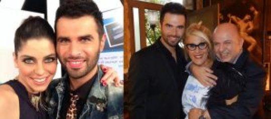 Τηλεοπτικό νταμπλ: Just the 2 of us (αριστερά) και Your Song, Yorgos Papadopoulos
