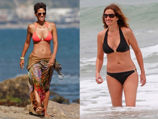 Halle Berry - Julia Roberts