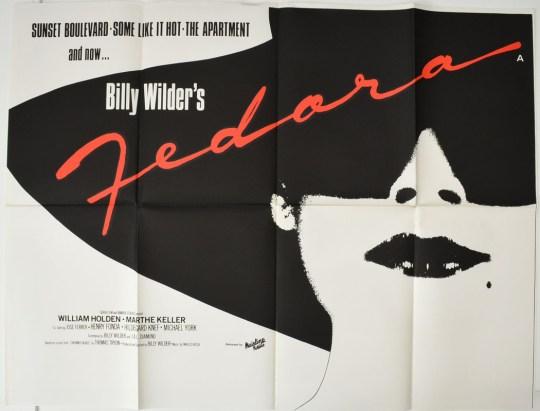 Fedora : Cinema Quad Poster