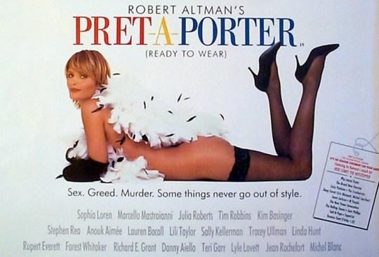 Robert Altman, «Prêt-à-Porter».