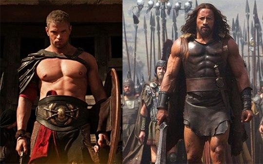 Cinema, Hercules, Body Building, Dwayne Johnson, Ηρακλής, Ελληνική μυθολογία, Nikos On Line, nikosonline.gr