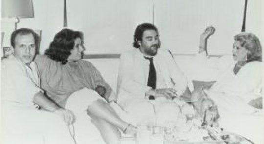 Μελίνα Μερκούρη, Νίκος Μουρατίδης
